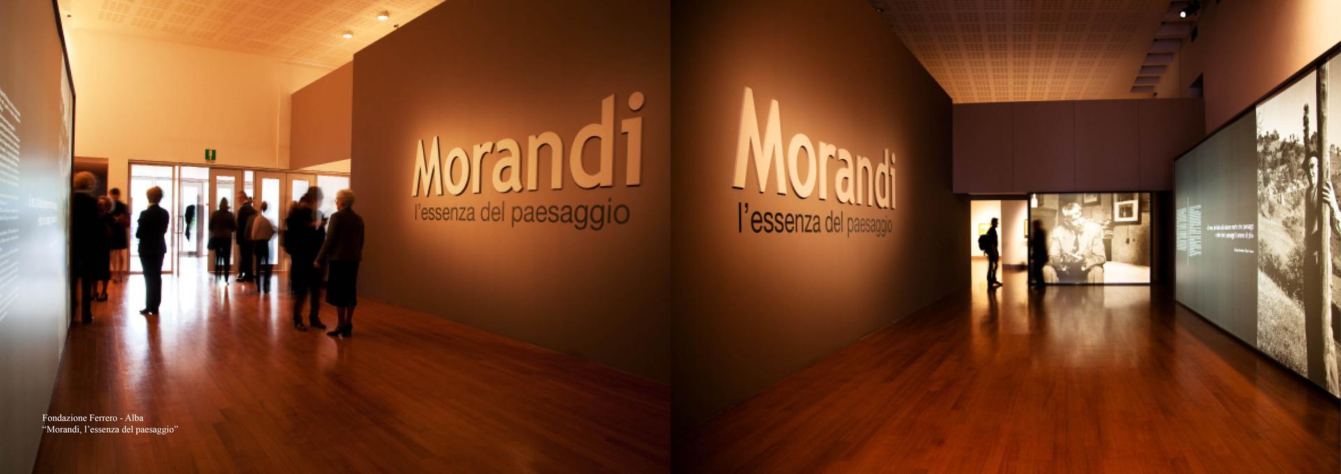 """""""Morandi, l'essenza del paesaggio"""""""