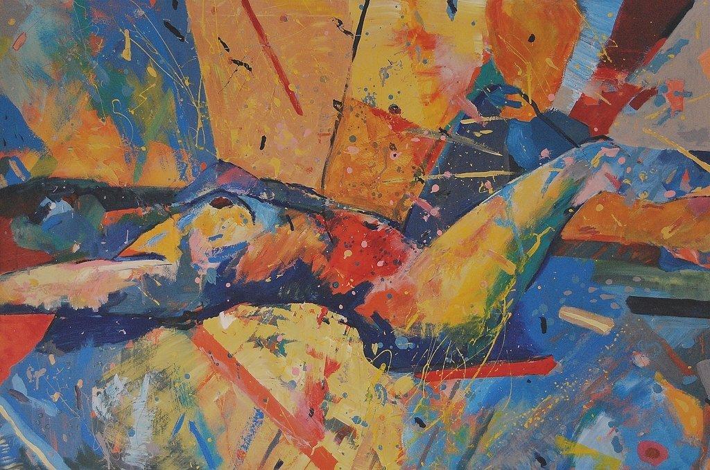 Kuszenie III 80x120 akryl płótno