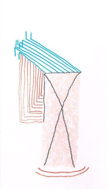 Zonder Titel, 2014  13,5 x 23,5 cm