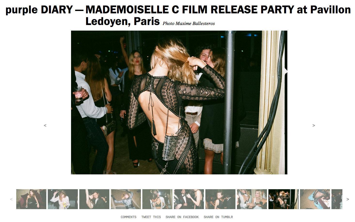 purple DIARY   MADEMOISELLE C FILM RELEASE PARTY at Pavillon Ledoyen  Paris.jpg