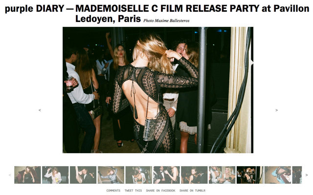 purple DIARY   MADEMOISELLE C FILM RELEASE PARTY at Pavillon Ledoyen  Paris.jpg