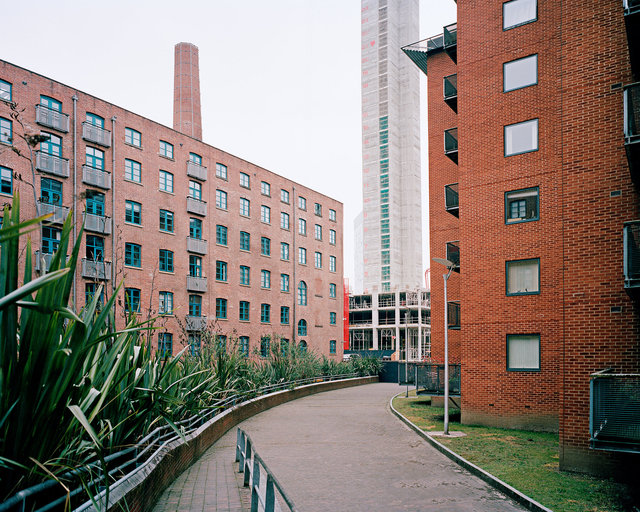 Former site of 'Little Ireland', Manchester