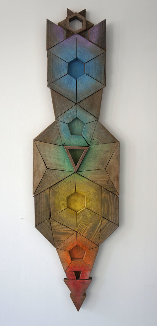 """""""Geodesic Guardian"""" 7ft x 2ft"""