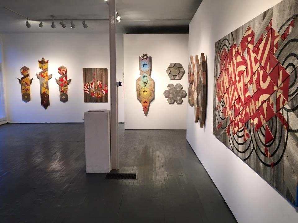 """""""Babel"""" solo exhibition 2016"""