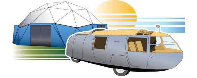 Illustration for Dymaxion Days SIUC