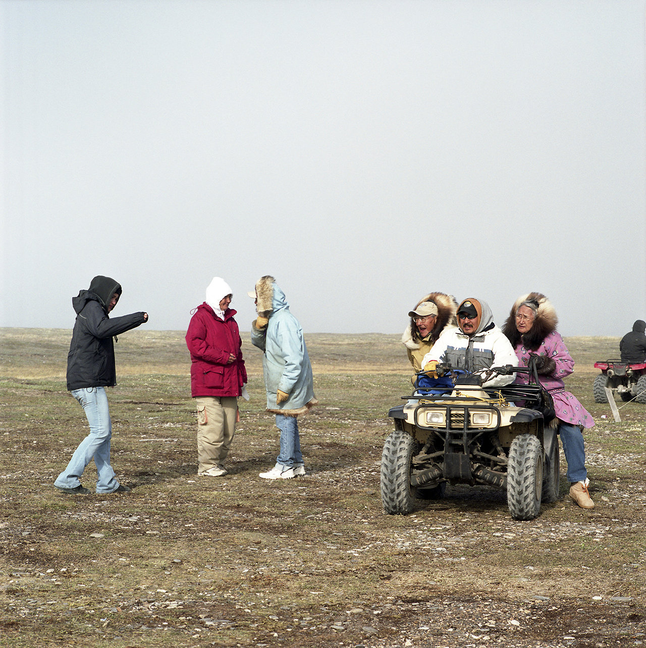 The Koonook family at Kagruk, 2009