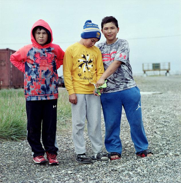 Kunnaan, Aqqi Jr. en Jessy Jr., August 2016