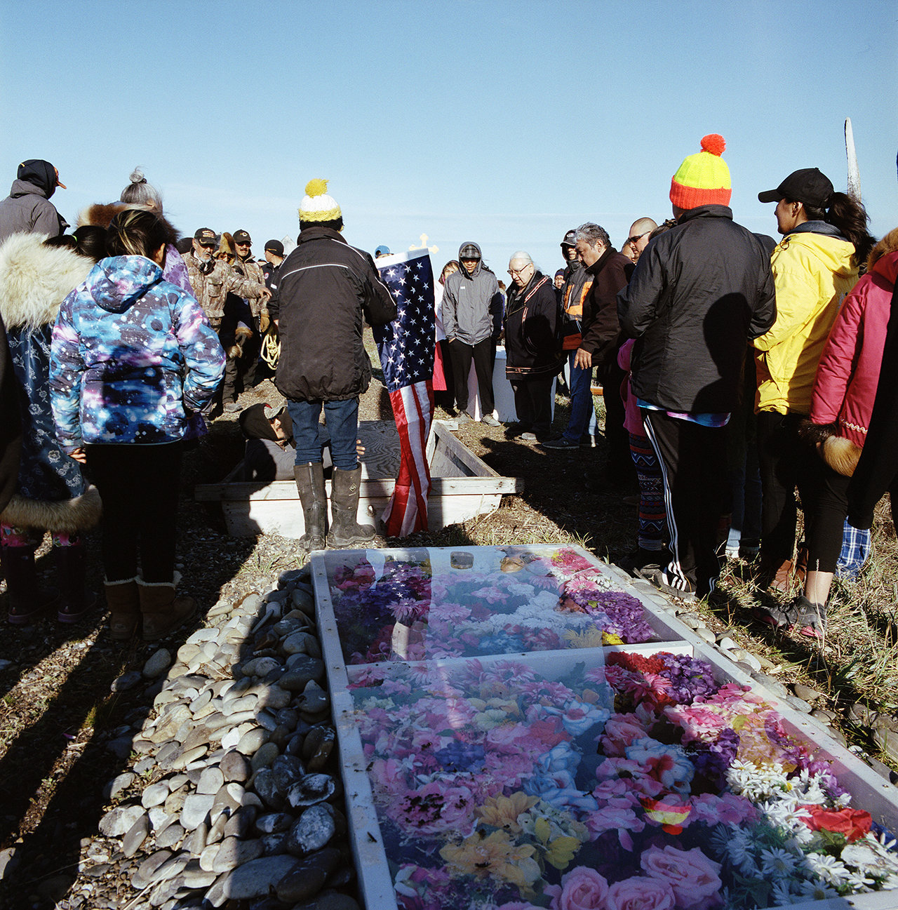 Blurr's funeral, August 2016