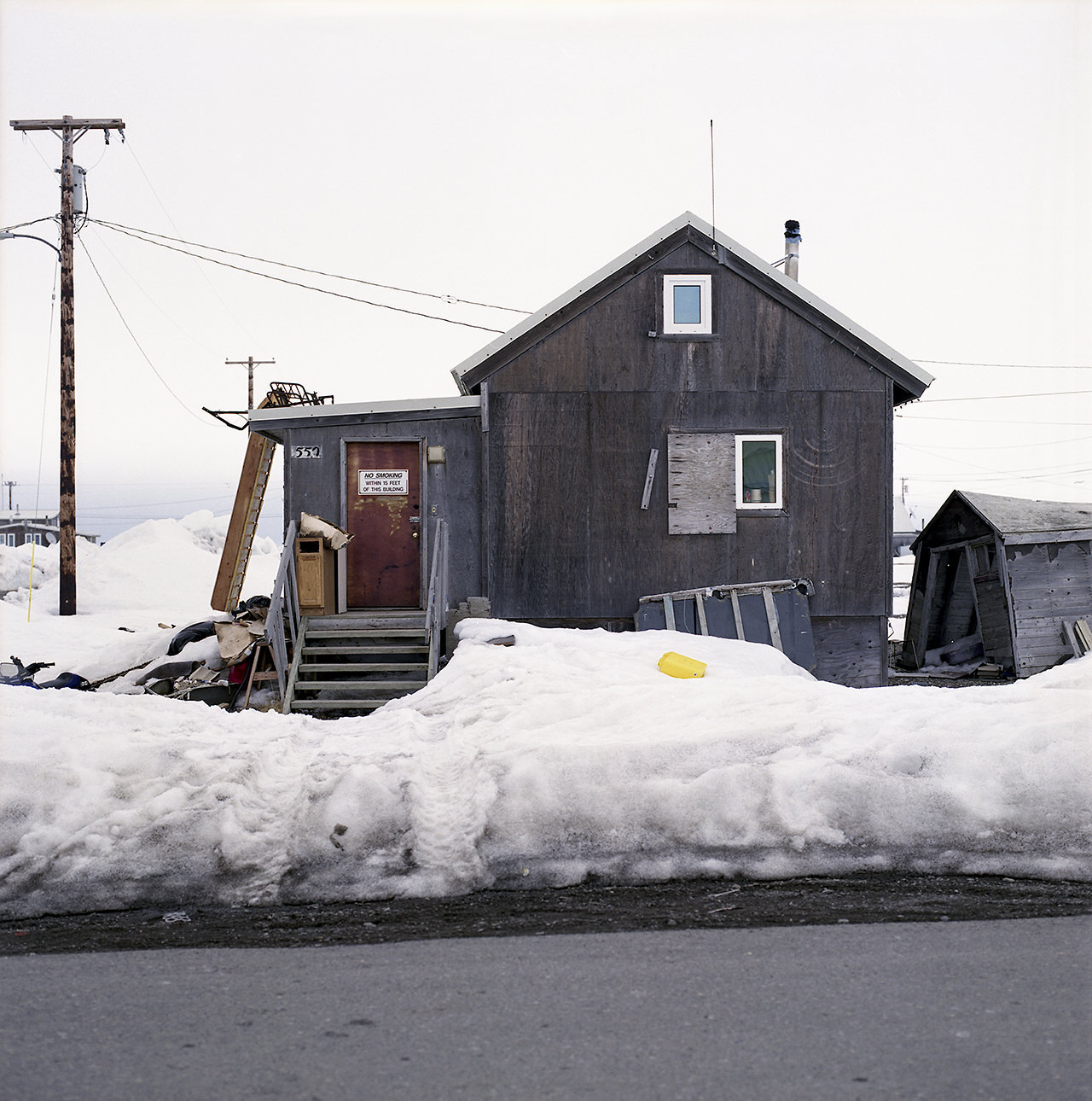 Iglu is the Inuit word for house, 2009