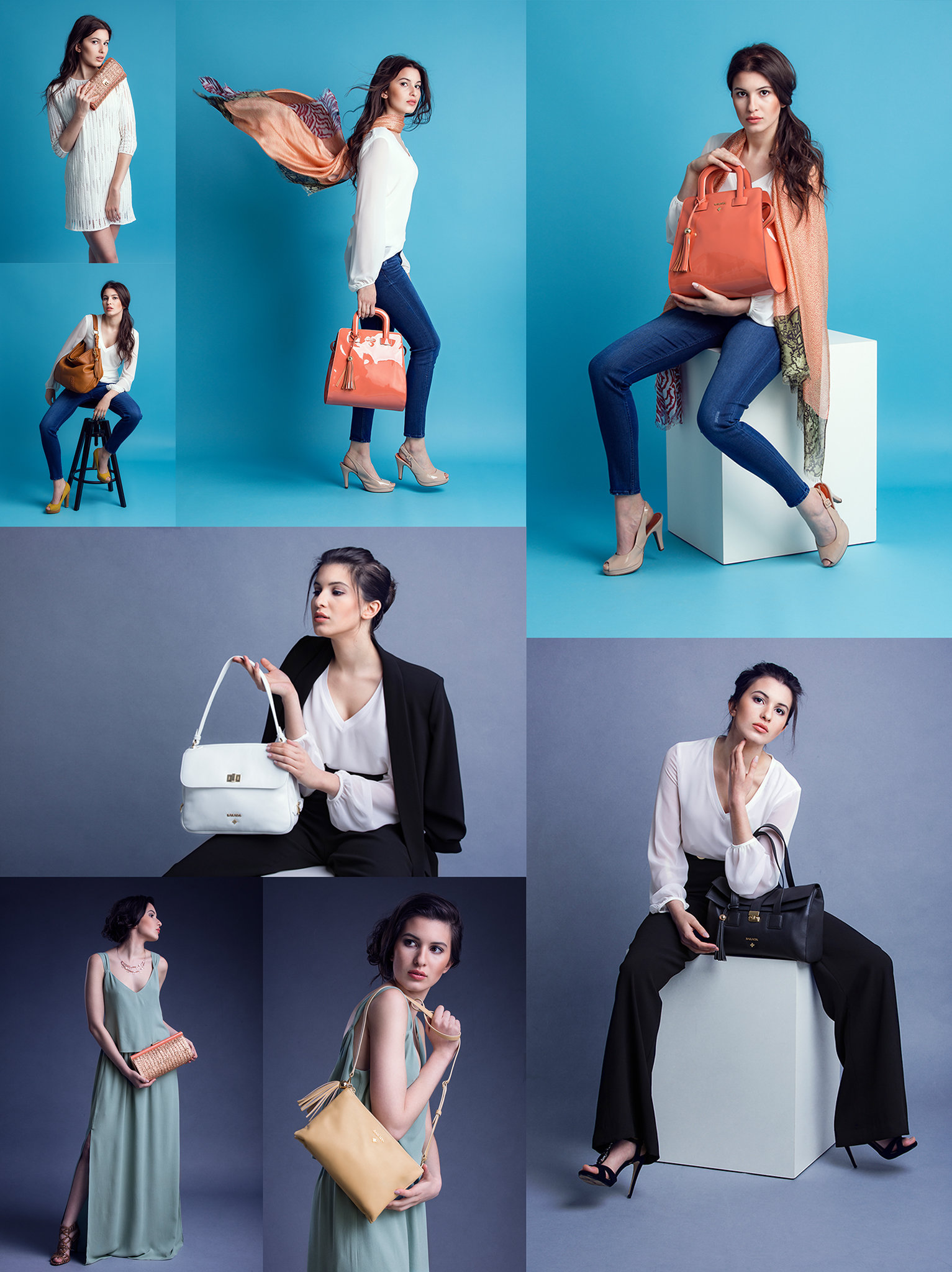 Barada Luxury Handbags SS2016 lookbook