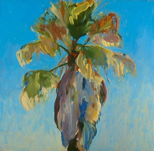 Palm Tree Portrait Series, No. 9