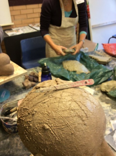 adding WET clay to HARD/DRIED clay