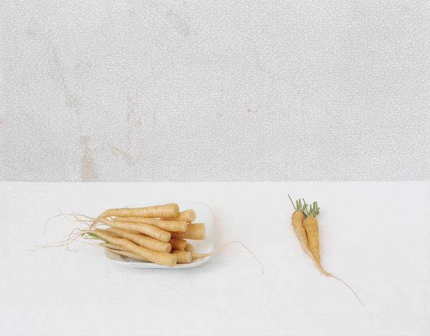 Yellow Carrots, c 2009