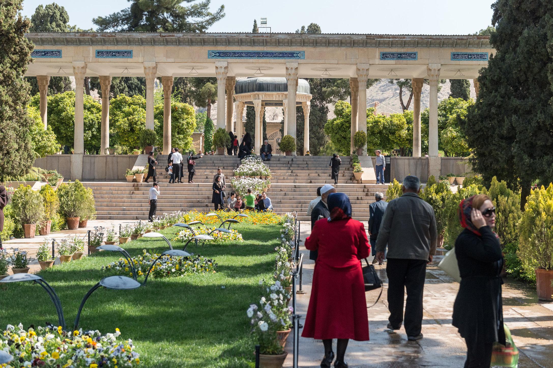 Tomb of Hafez, Shiraz