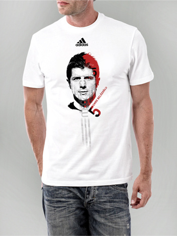 Adidas - Emre Belözoğlu T-shirt design
