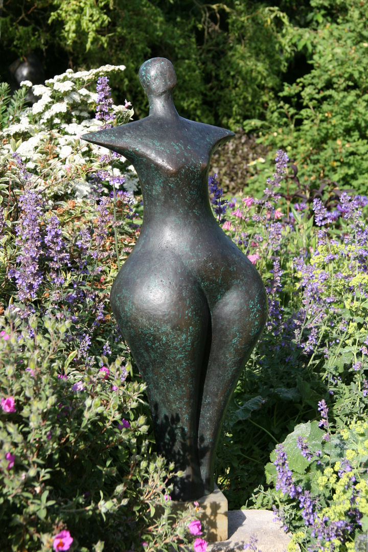 First Woman, 1995, 87 x 32 x 26cm  Bronze Resin,  near Stratford Resin  £2950