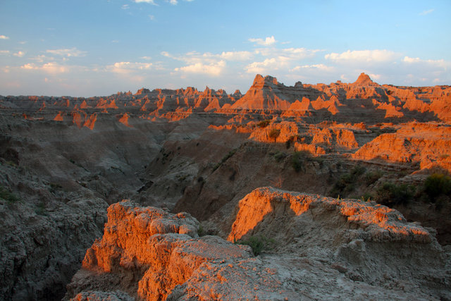 Sunrise, Badlands National Park, South Dakota