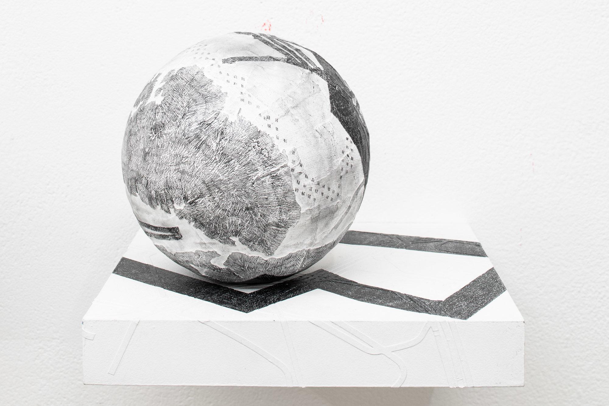 Residual #11 Pocket Globe