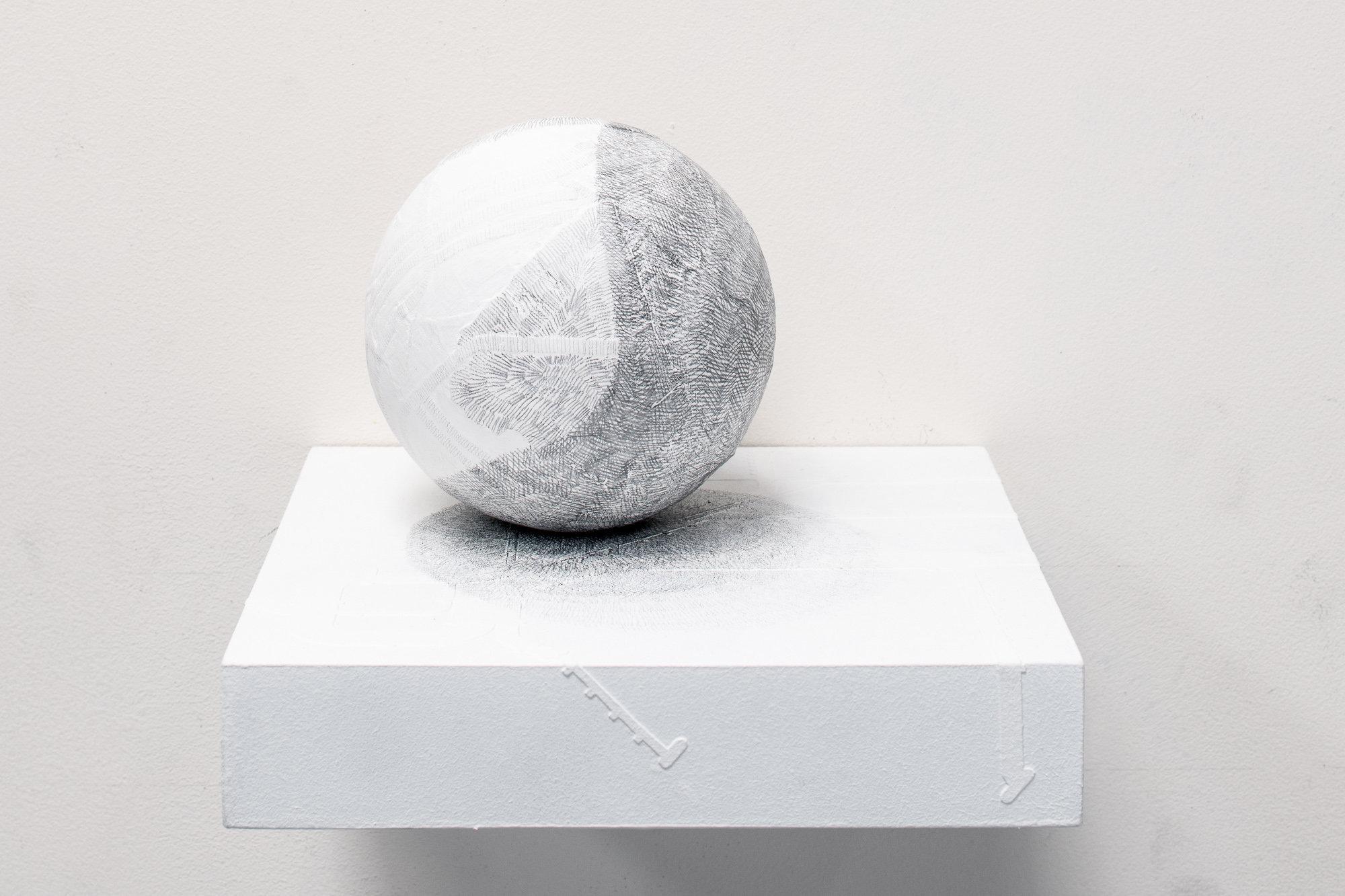 Residual #18 Pocket Globe