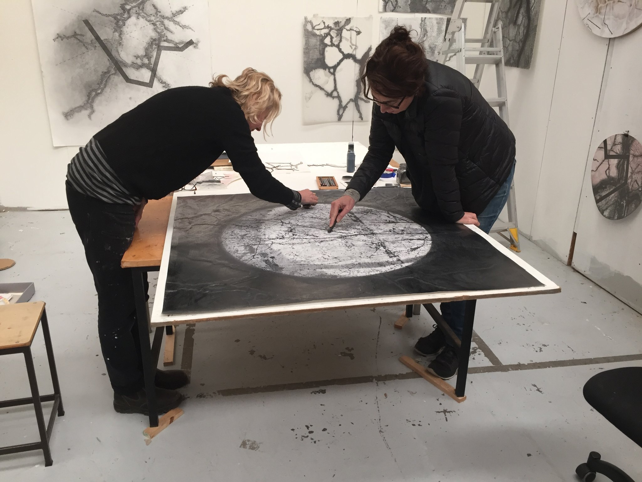Drawing collaboration with Julia Davis