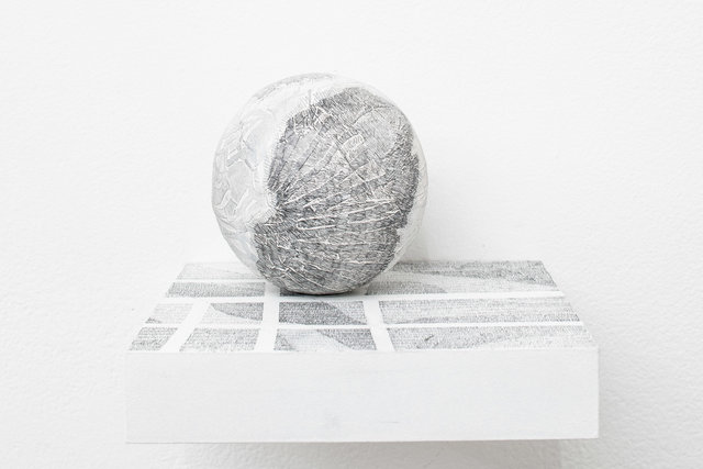Residual #13 Pocket Globe