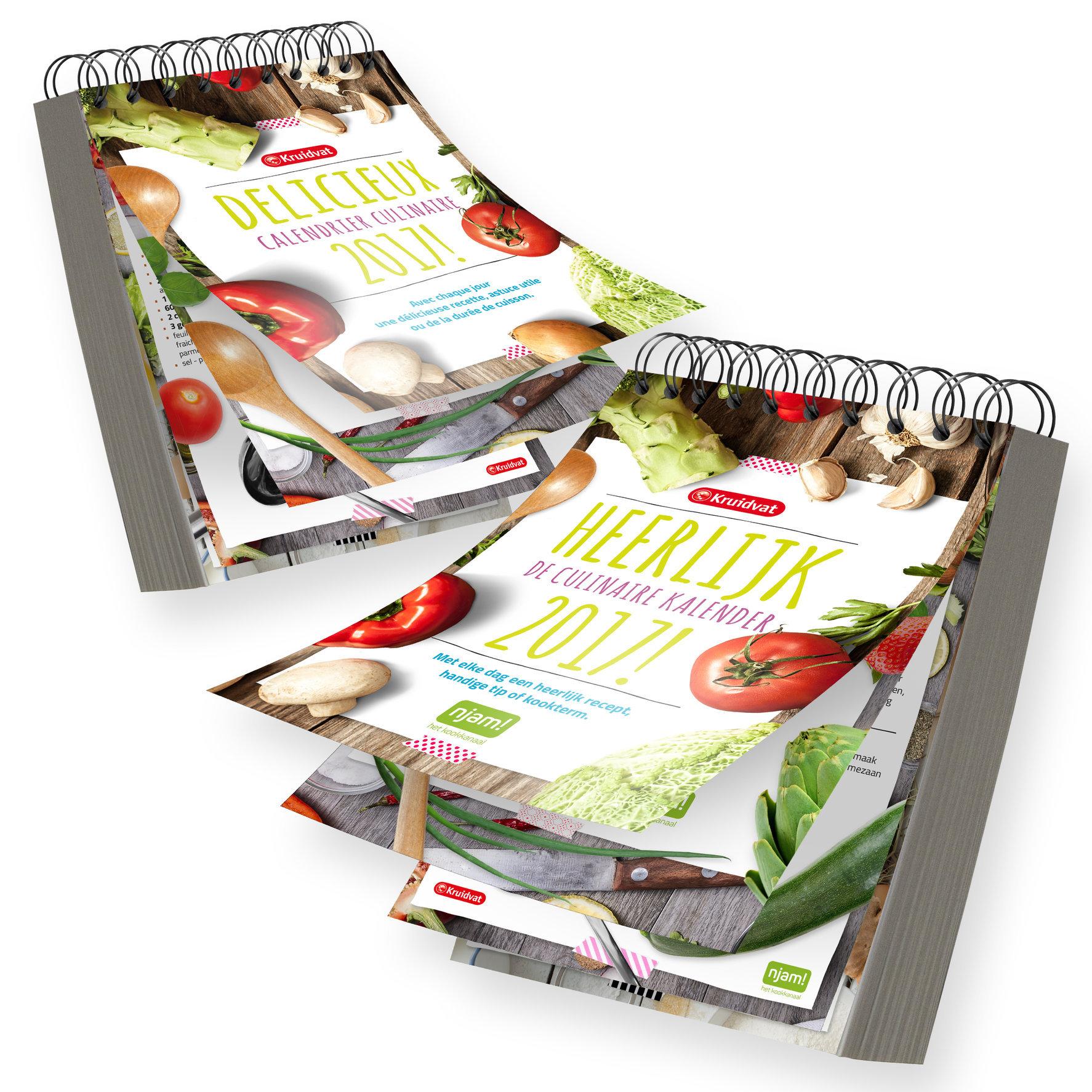 Culinaire kalender | publicaties
