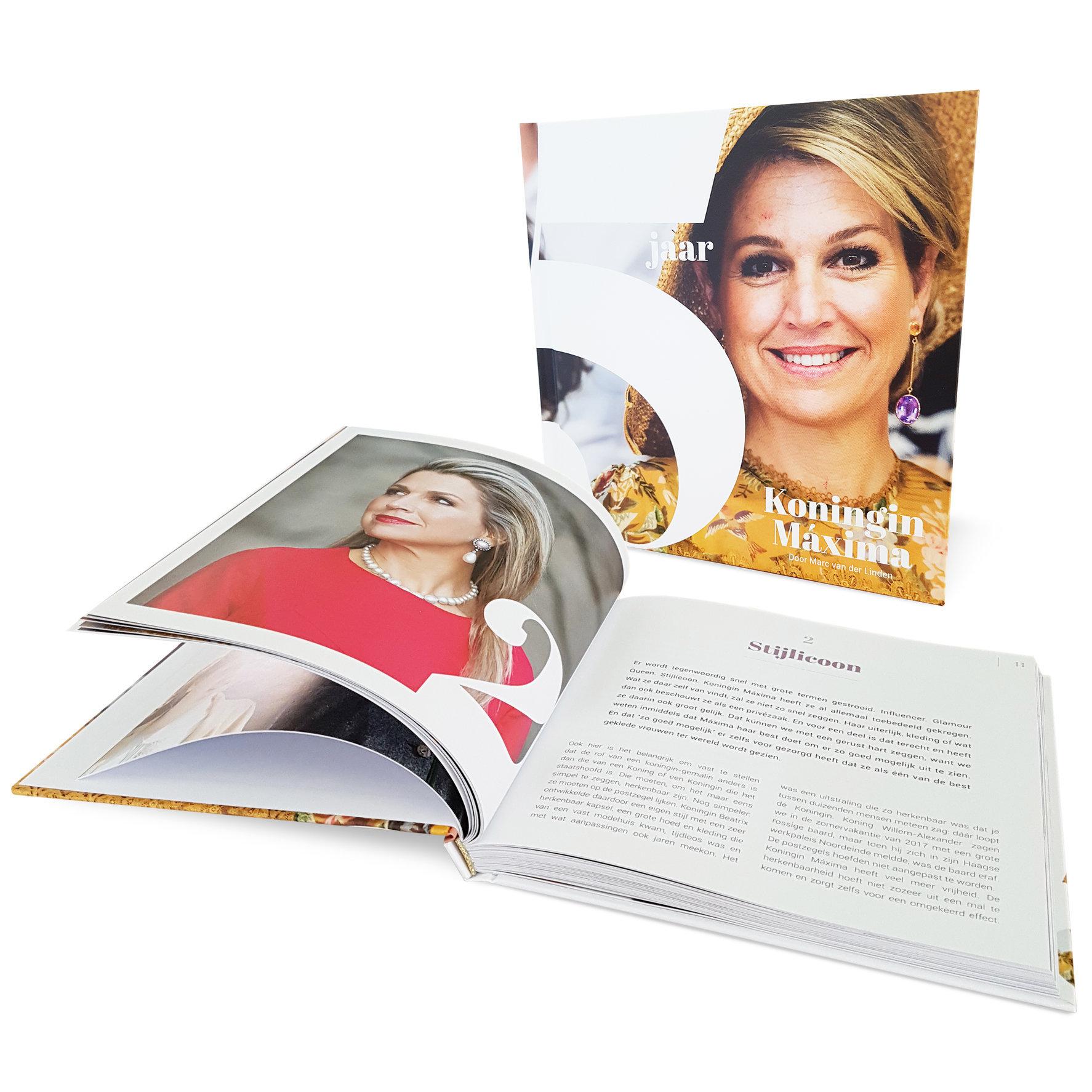 Boek 5 jaar Koningin Máxima