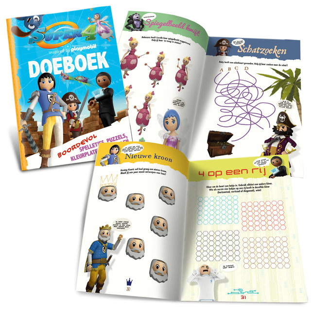 Super 4 doeboek | publicaties