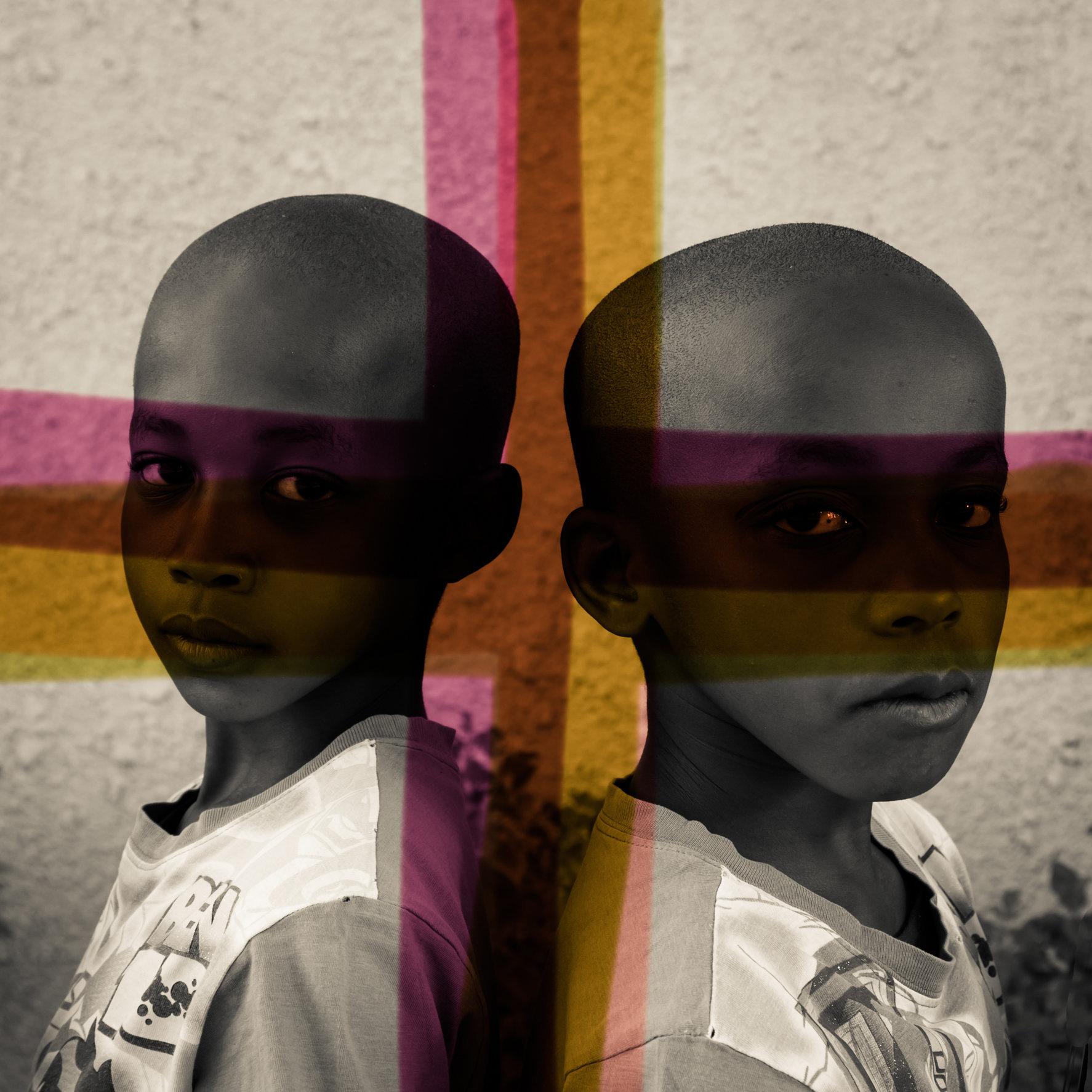Ttshepeng & Ofentse Moagi (9 ) twins