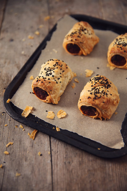 Apple and Chorizo Sausage Rolls