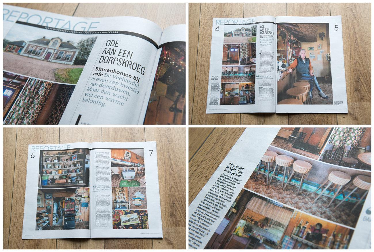 Publication Dutch newspaper.