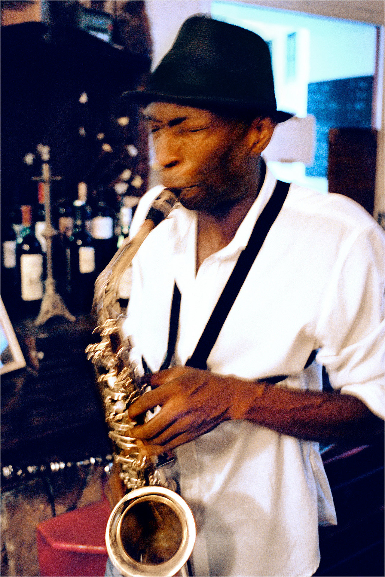 Saxophonist, Abrakadabra Stories