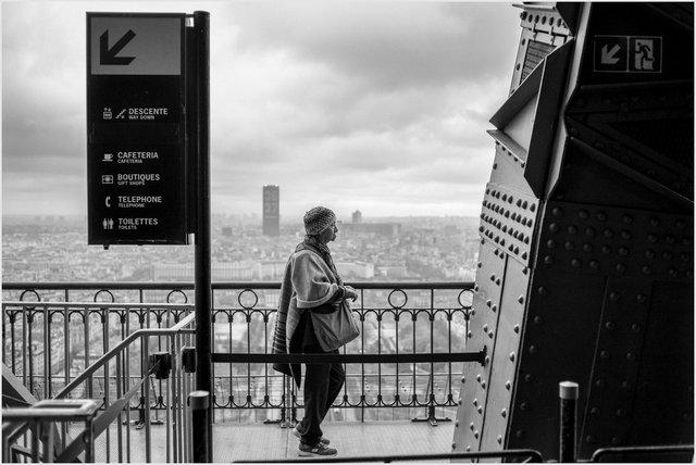 Dame sur Paris, 2018