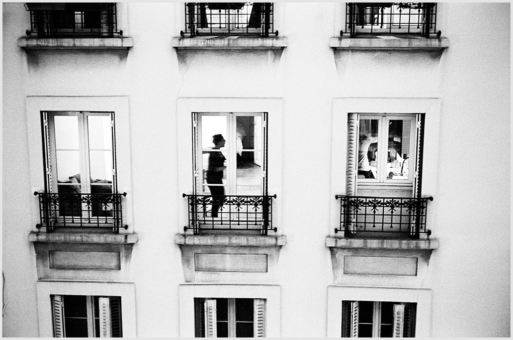 Street People. From the window