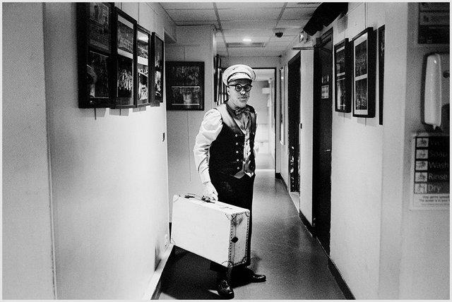 Eric Boo, un mimo en el Moulin Rouge, 2016