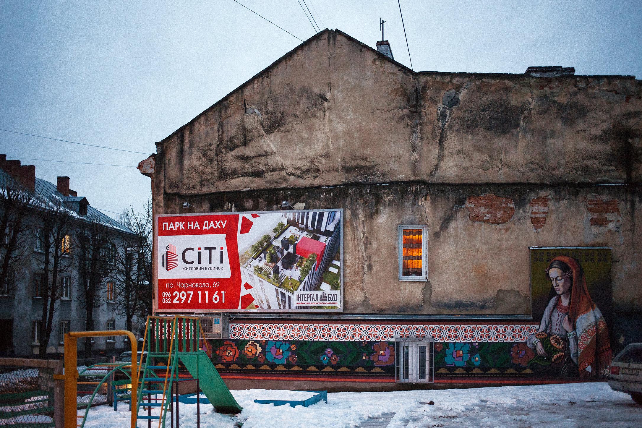 Lviv, Ukraine, 2016