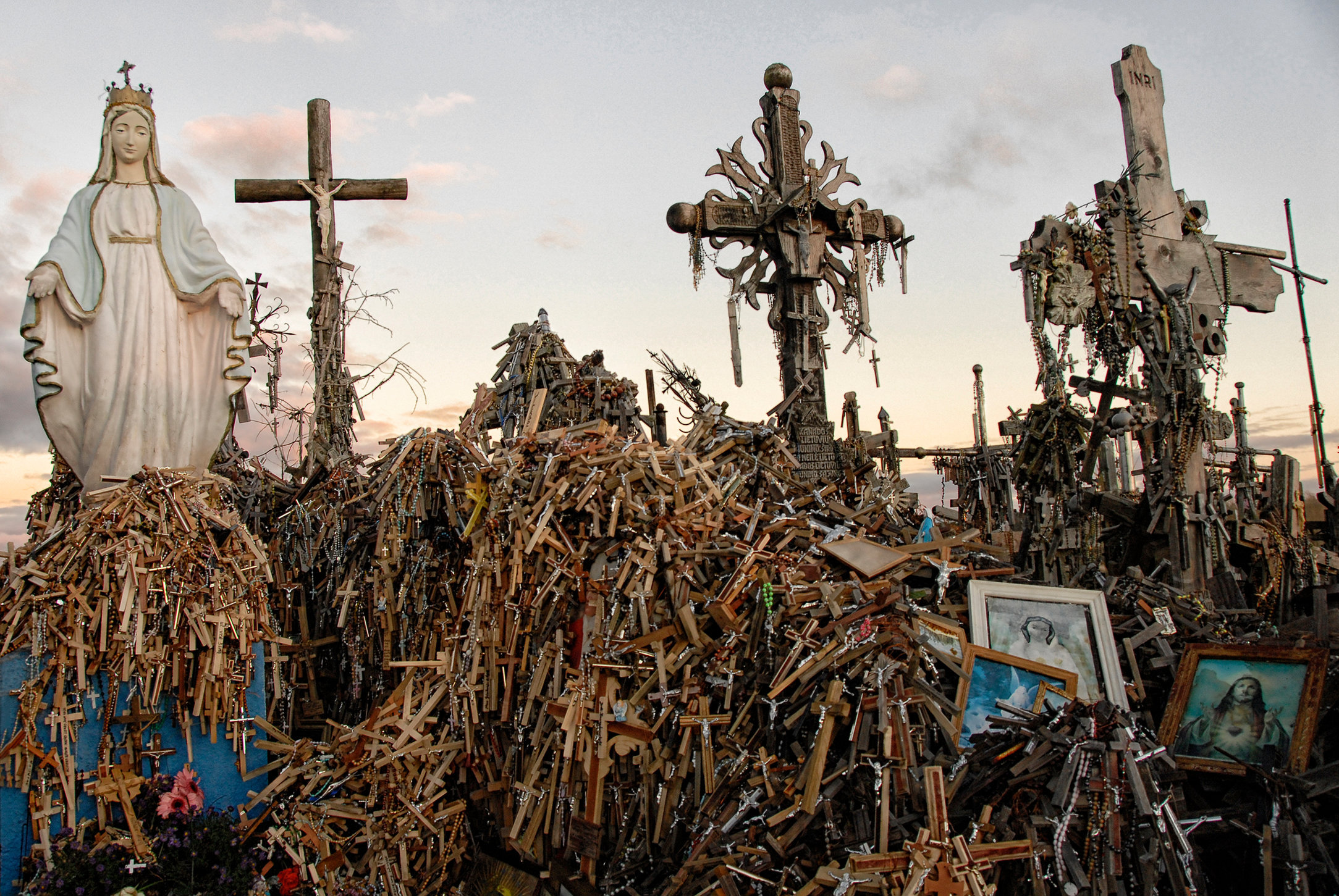 Hill of crosses, Lithuania, 2013