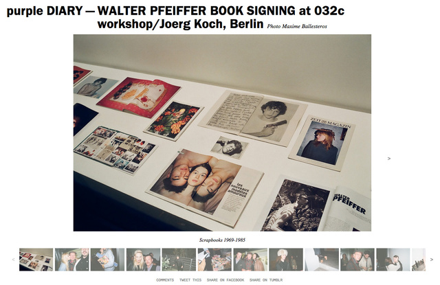 purple DIARY   WALTER PFEIFFER BOOK SIGNING at 032c workshop Joerg Koch  Berlin.jpg