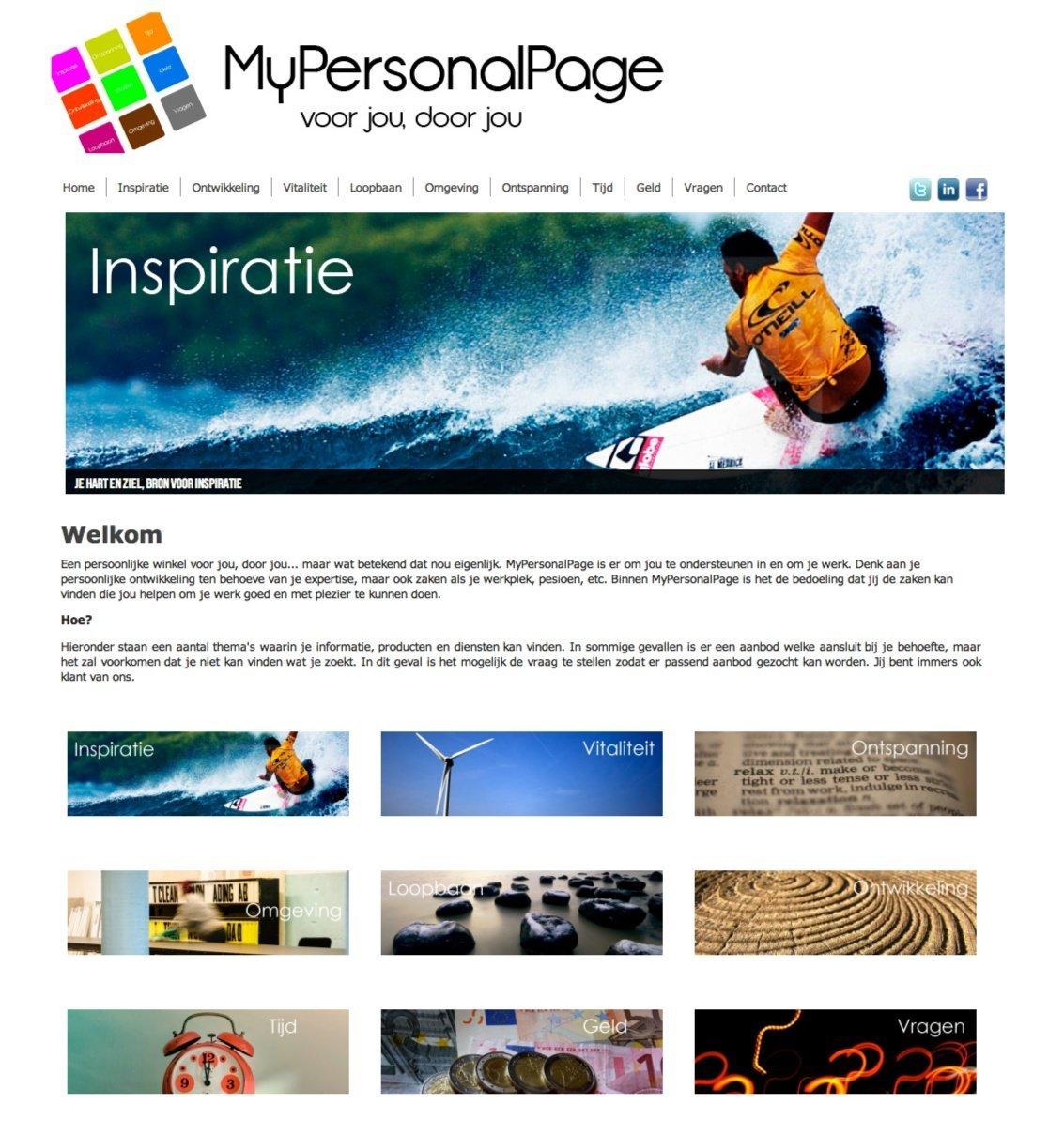 www.mypersonalpage.nl
