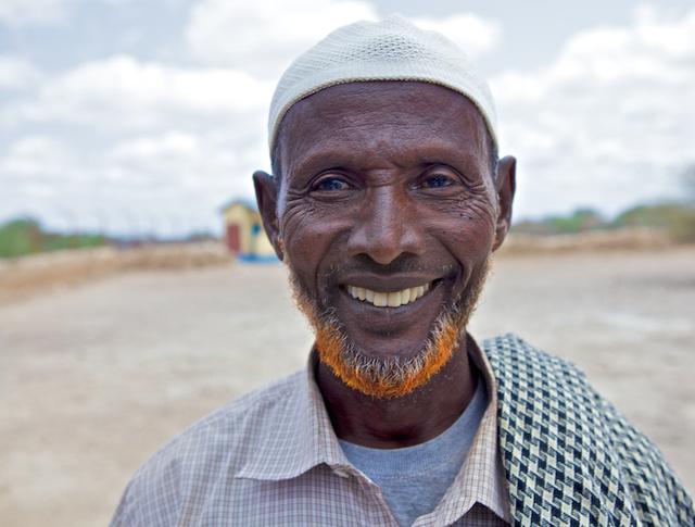 Somali Elder and camel keeper - El Wak