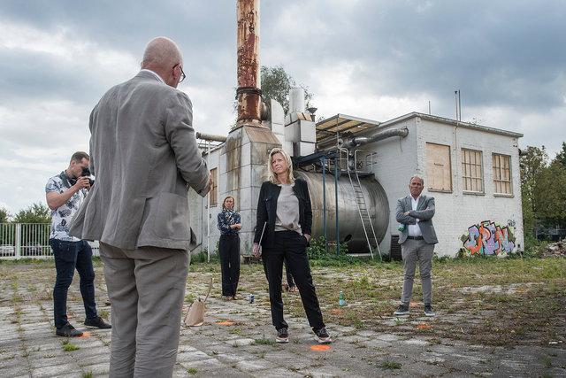 Werkbezoek minister Kajsa Ollongren aan nieuwbouwproject Breda, 2020