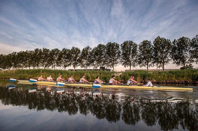 Training roeiploeg Nederlandse krijgsmacht, Breda, 2019