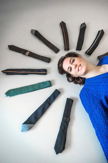 Jolanda Dietvorst, ontwerper/ eigenaar stropdassenlabel Senor Guapo, 2017