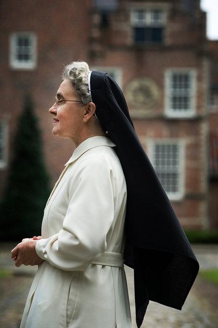 Zuster Maria Magdalena, priorin St. Catharinadal, 2014