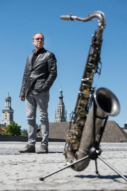 Antoine Trommelen, saxofonist, 2019