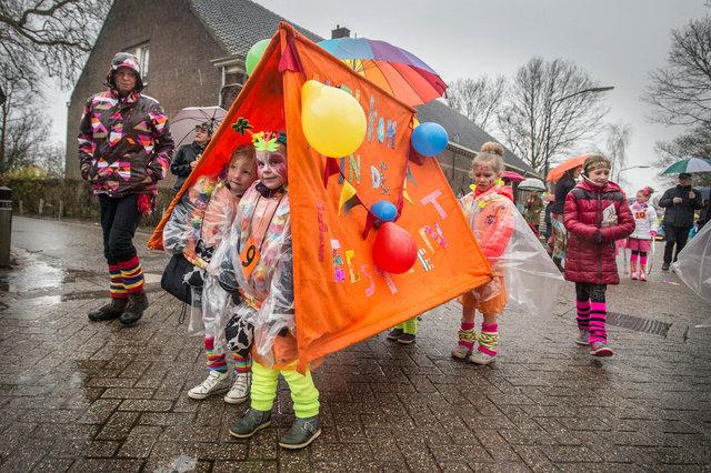 Kinderoptocht Den Hout, 2017