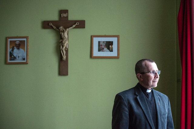 Slawomir Klim, pater van congregatie voor de zielzorg onder Poolse (arbeids)migranten, 2018