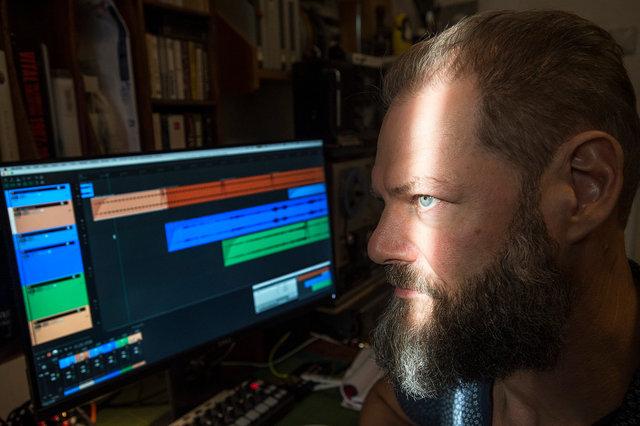 Martijn Hohmann, geluidskunstenaar, 2020