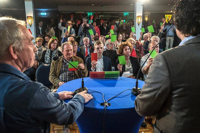 Debat Gemeenteraadsverkiezingen Oosterhout, 2018