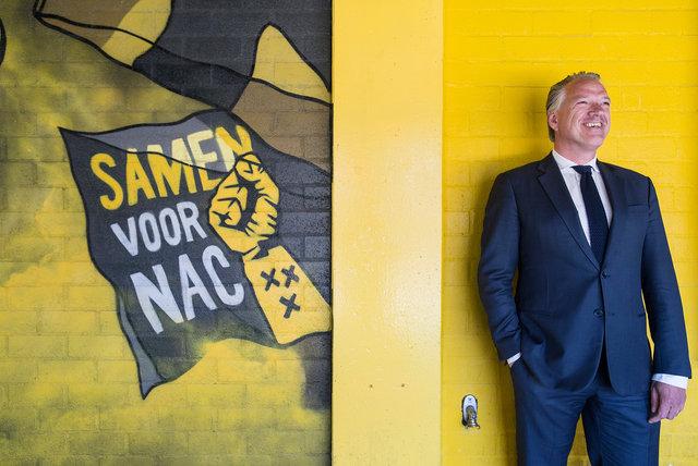 Mattijs Manders, algemeen directeur NAC, 2020